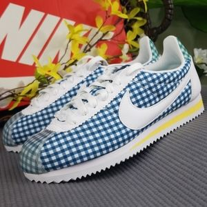 Nike Classic Cortez QS Gingham Check Womens 6.5